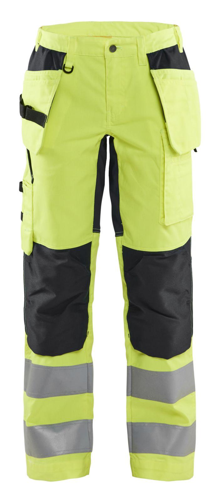 Blaklader Broeken 71631811 High Vis fluo geel-zwart(3399)