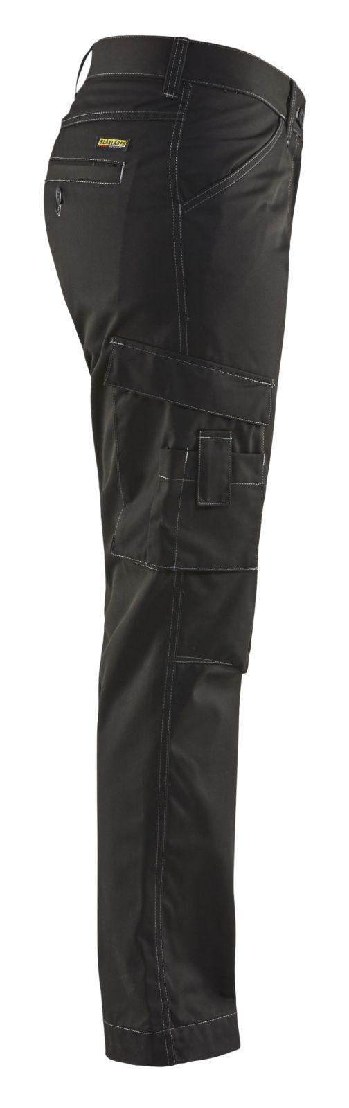 Blaklader Dames werkbroeken 71901835 zwart(9900)