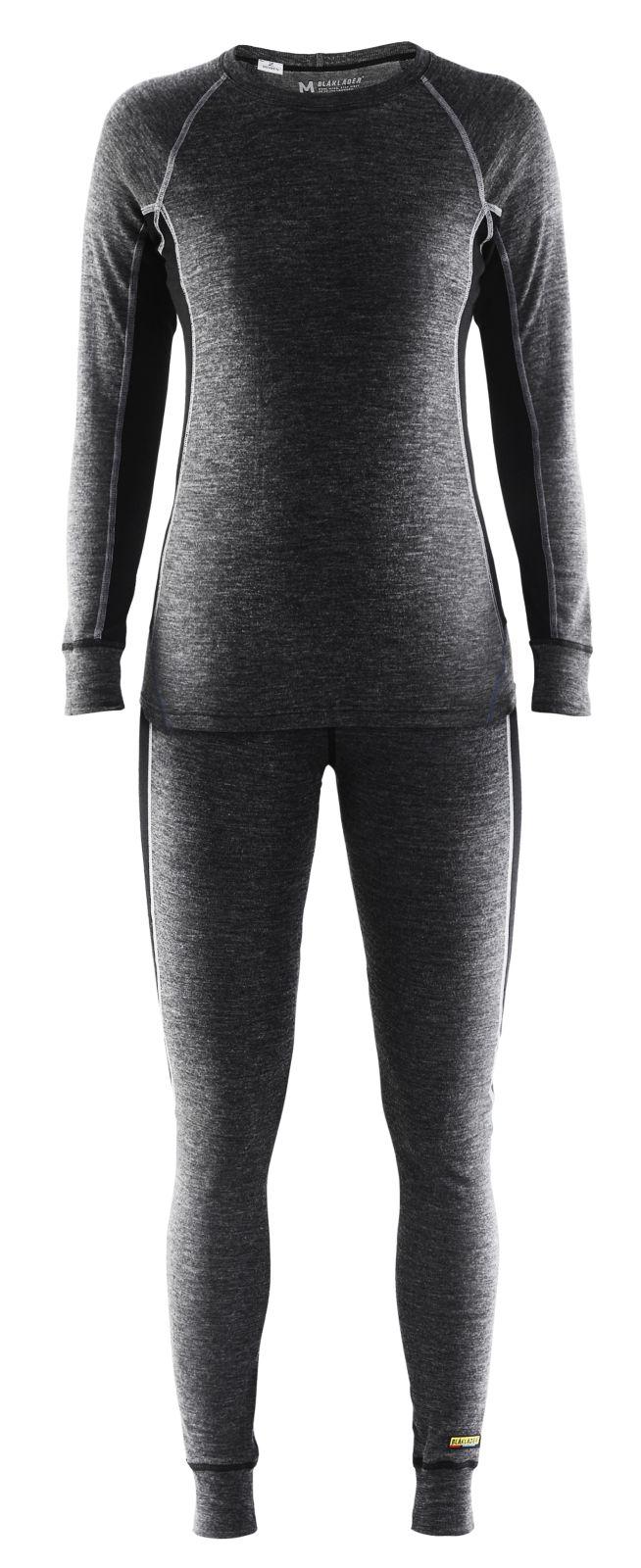Blaklader Shirts 72001732 grijs-zwart(9699)