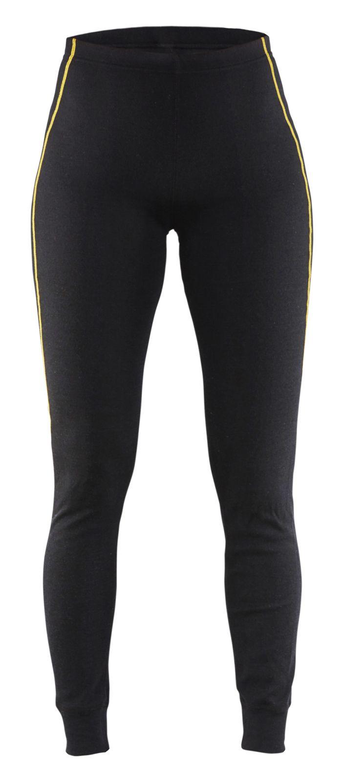 Blaklader Dames lange onderbroeken 72031075 Vlamvertragend zwart(9900)