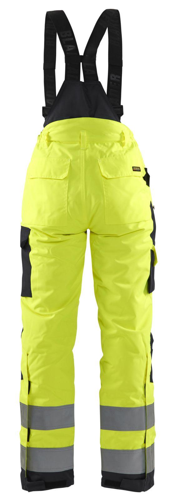 Blaklader Dames winterwerkbroeken 78851977 High Vis geel-zwart(3399)
