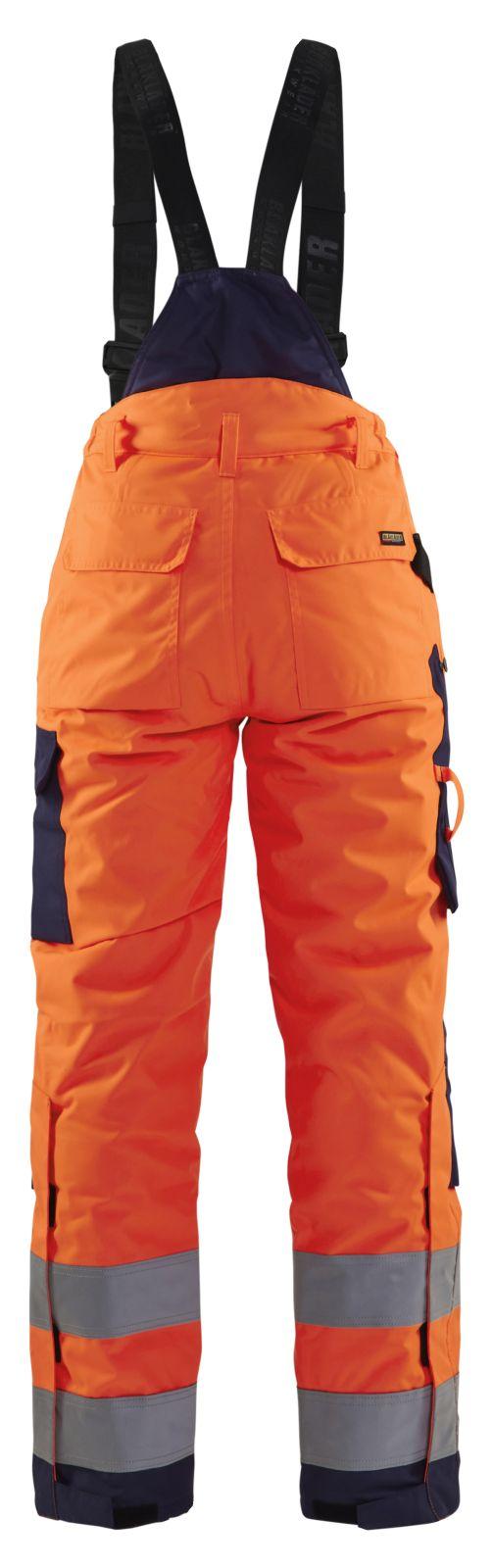 Blaklader Dames winterwerkbroeken 78851977 High Vis oranje-marineblauw(5389)