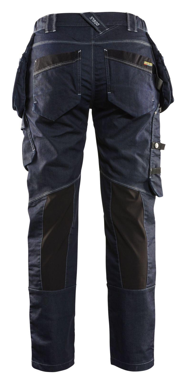 Blaklader Dames werkbroeken 79901141 marineblauw-zwart(8999)