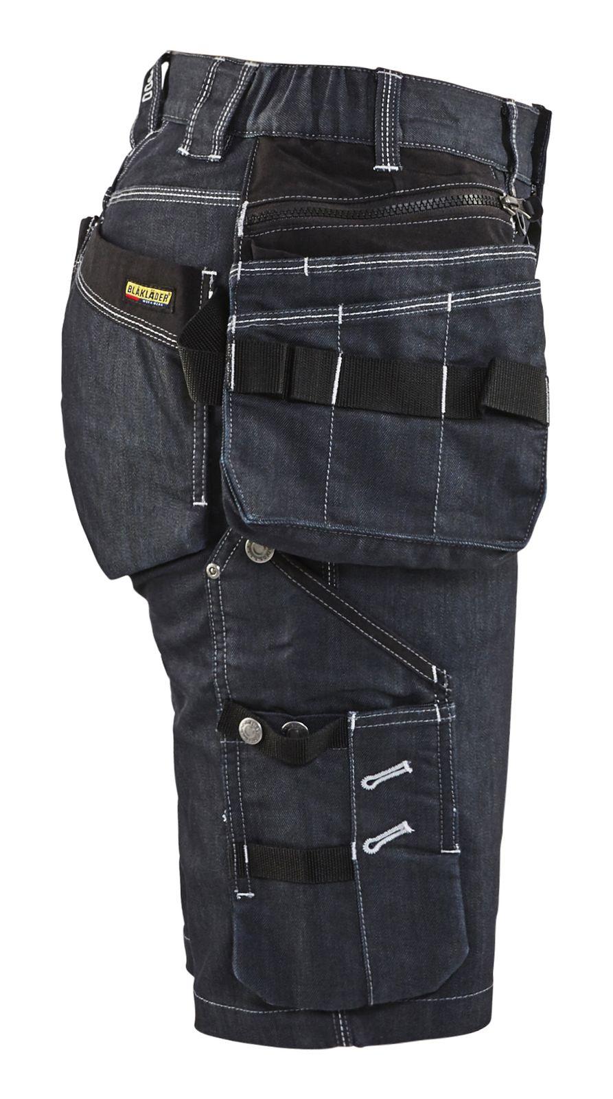 Blaklader Broeken 79921141 marineblauw-zwart(8999)