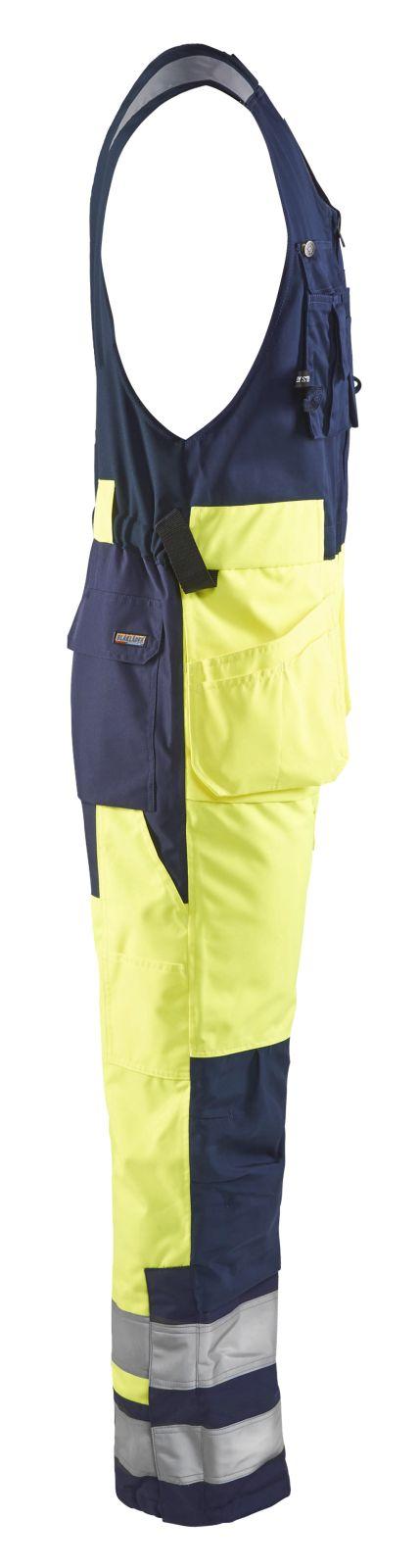 Blaklader Bodybroeken 85041977 High Vis geel-marineblauw(3389)