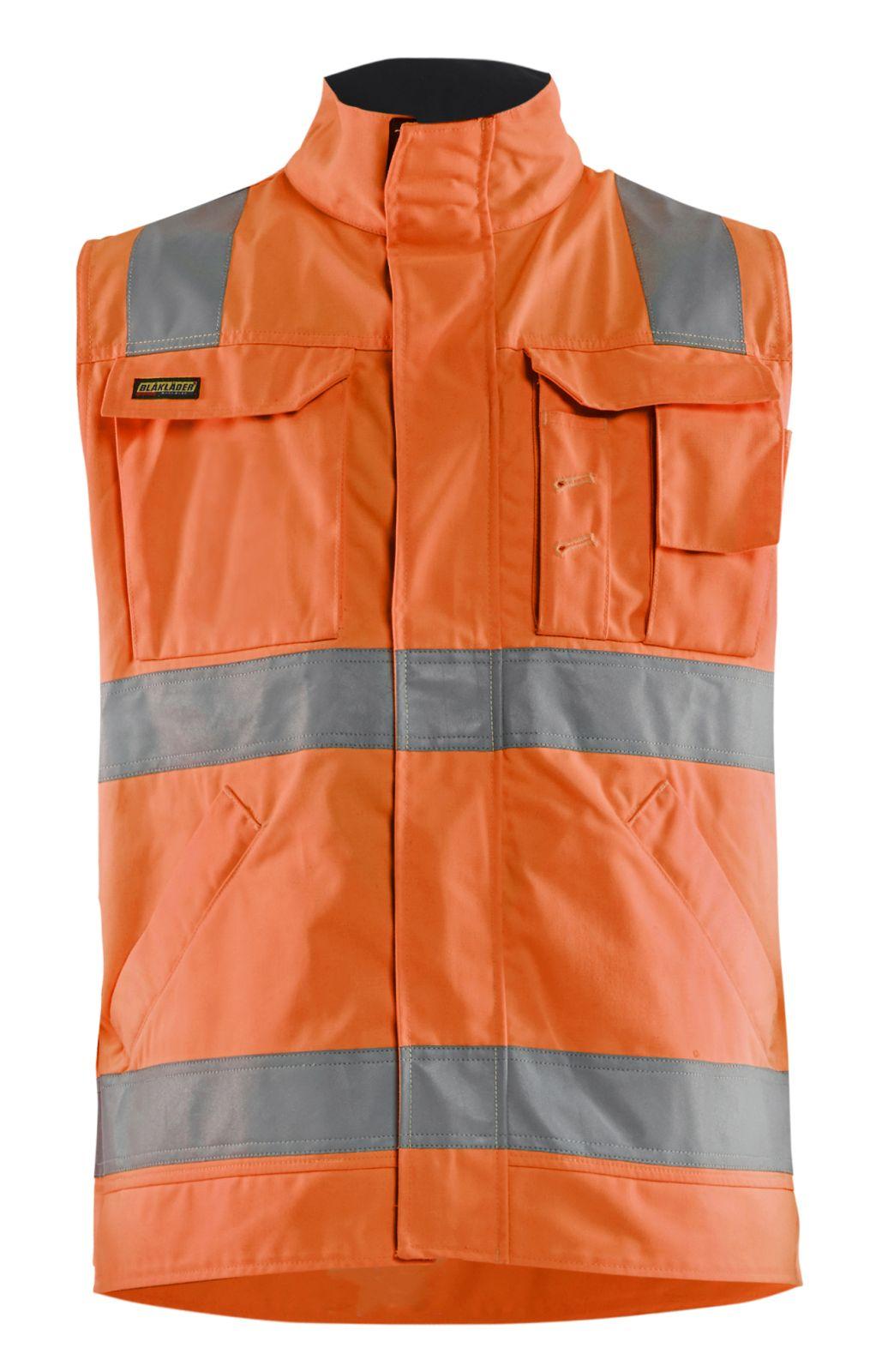 Blaklader Vesten 85051804 High Vis oranje-marineblauw(5389)
