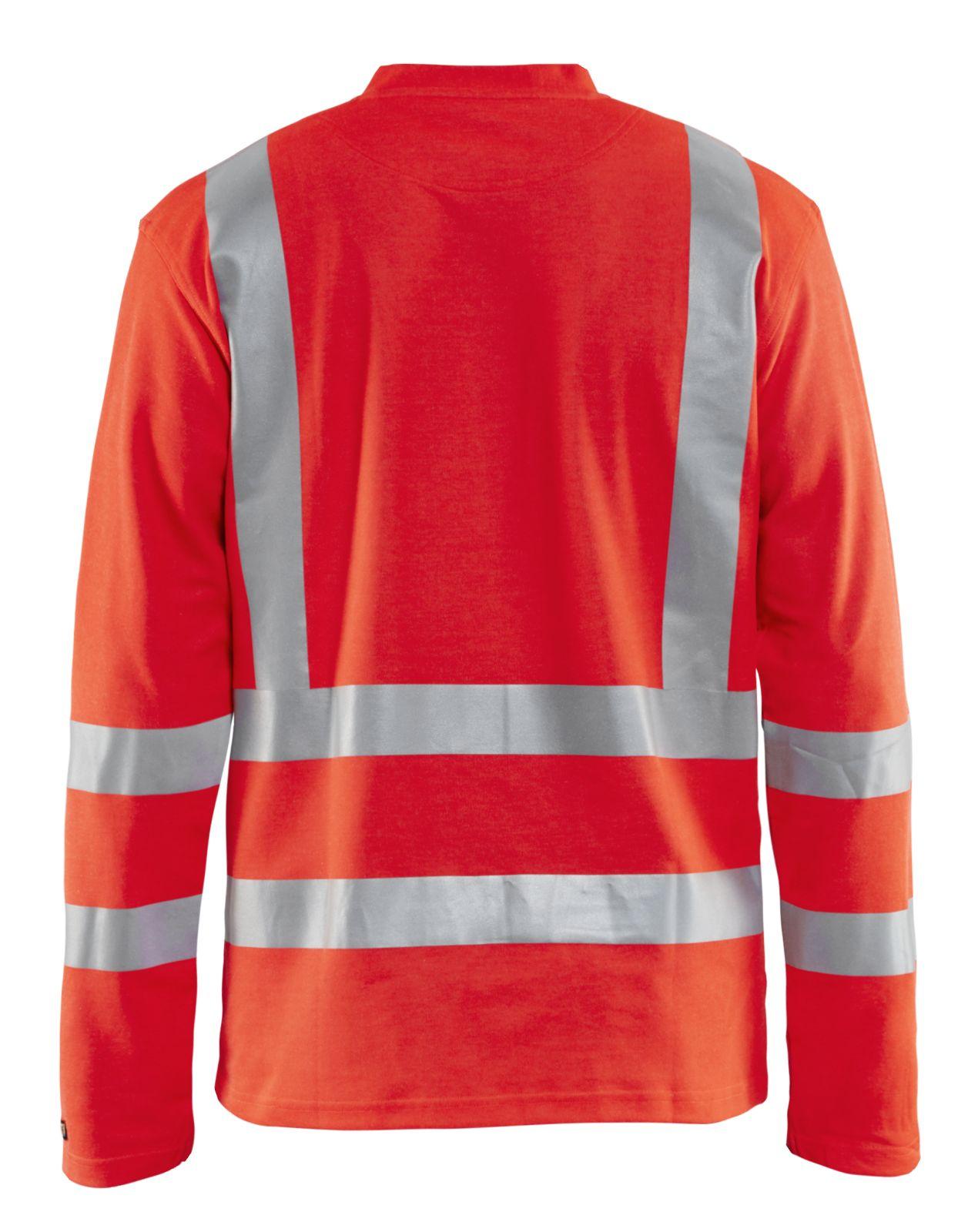 Blaklader T-shirts 89481070 High Vis UPF40+ UV fluo-rood(5500)