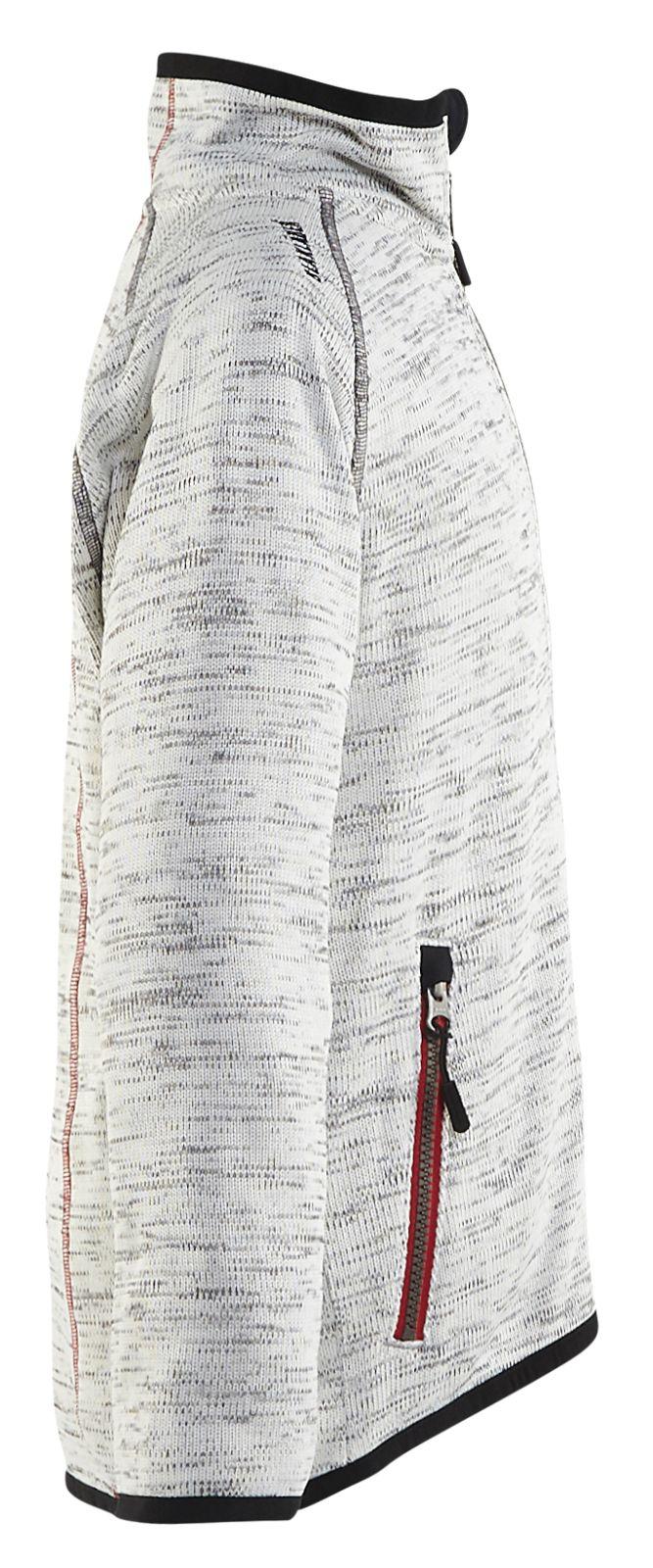 Blaklader Kinderkleding 91902119 grijs melange-rood(9056)