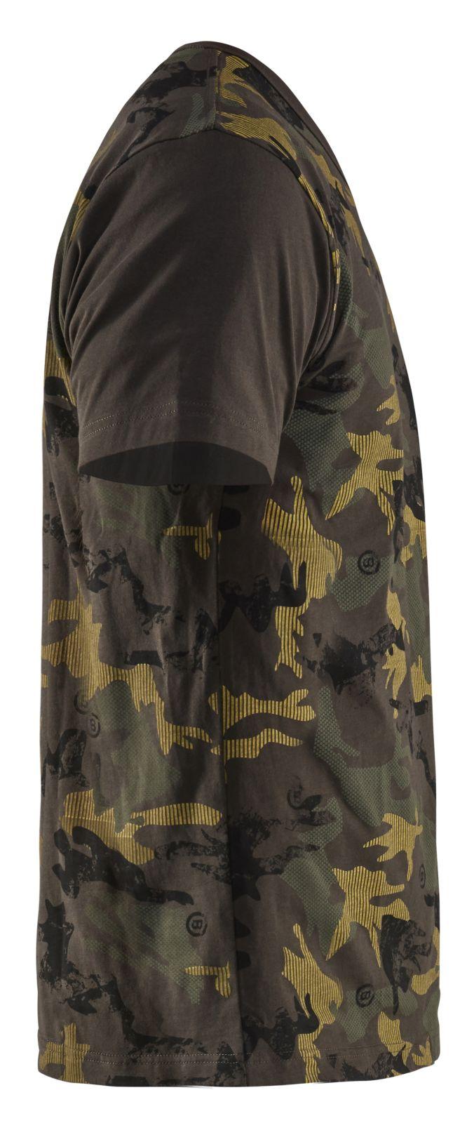 Blaklader T-shirts 94071042 groen-zwart(4599)