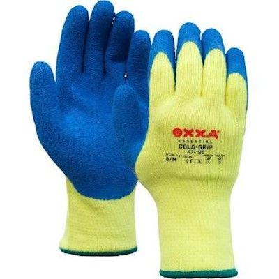 M-Safe Handschoenen 14718500 High Vis fluo geel-blauw