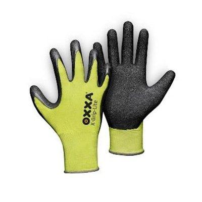 OXXA Handschoenen X-Grip-lite fluo geel-zwart