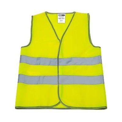 Merkloos Verkeersvest 0105 fluo geel