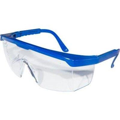 Merkloos Veiligheidsbril Plus blauw