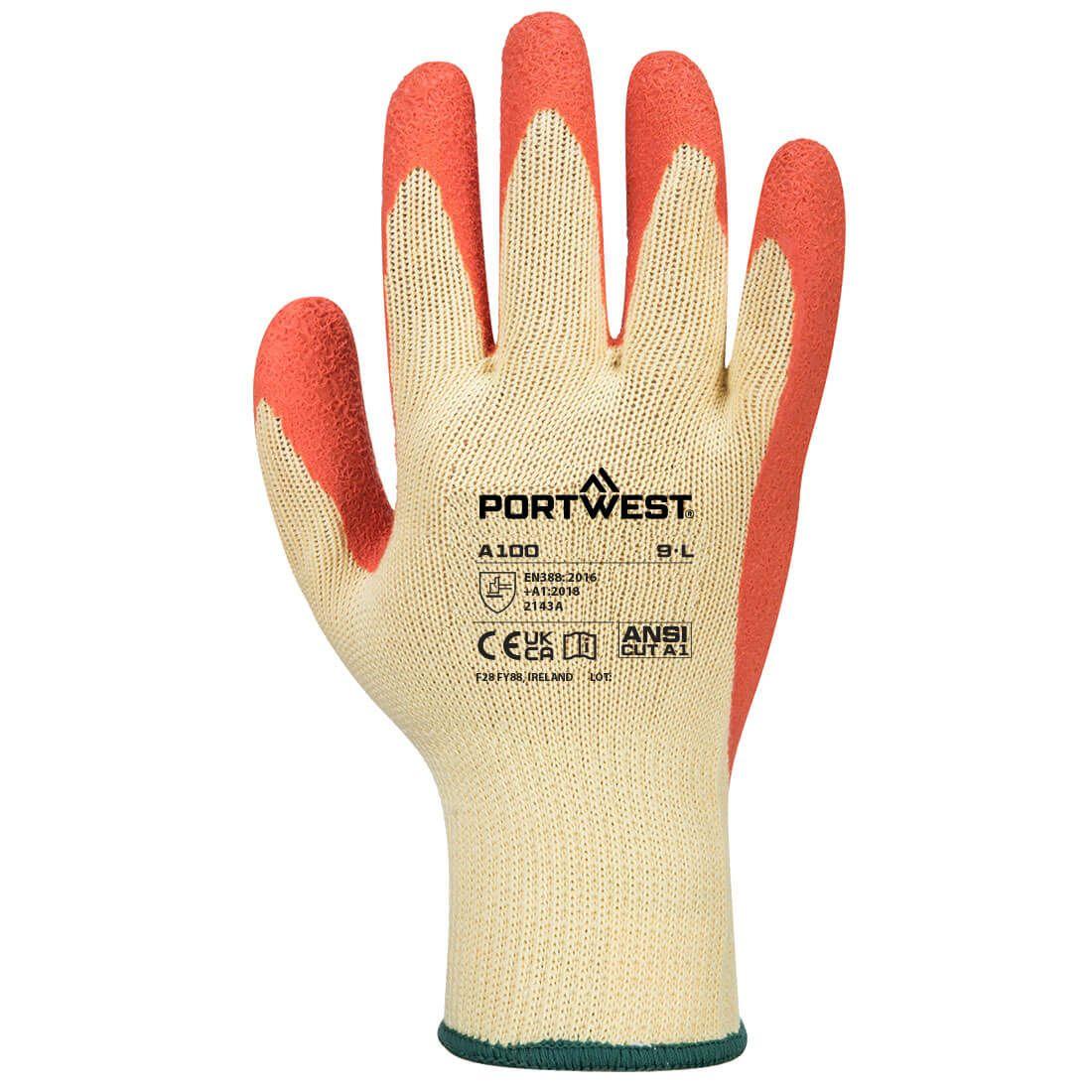 Portwest Handschoenen A100 oranje(OR)