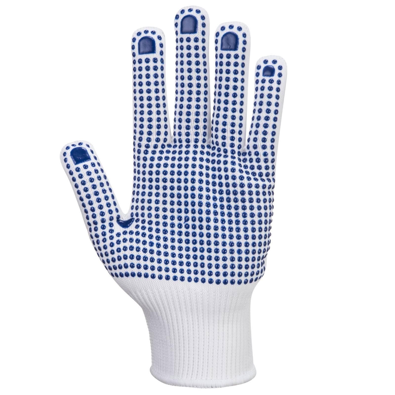Portwest Handschoenen A110 wit-blauw(WB)