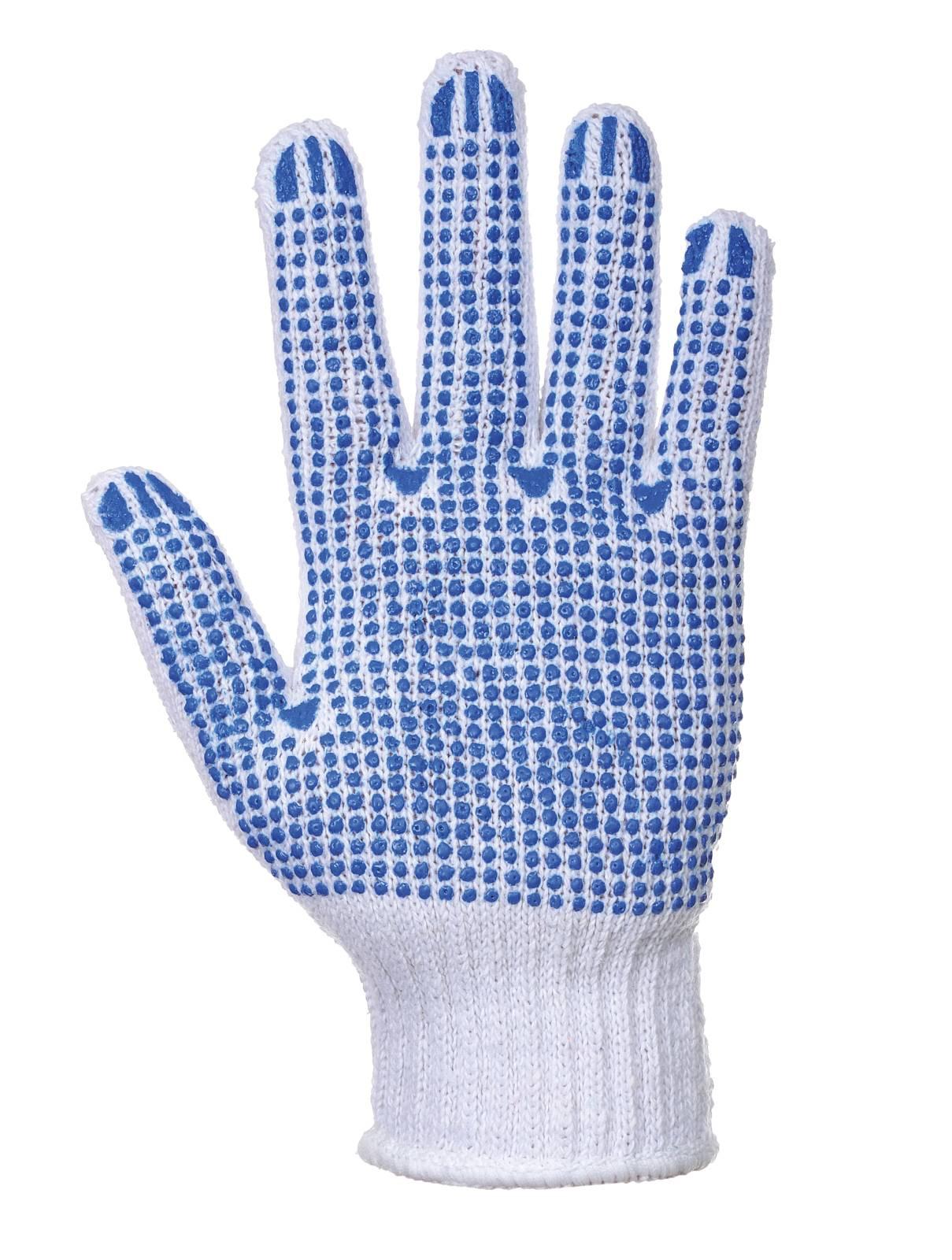Portwest Handschoenen A111 wit-blauw(WB)