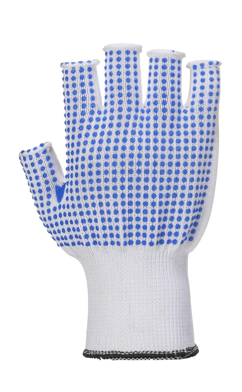 Portwest Handschoenen A114 wit-blauw(W4)
