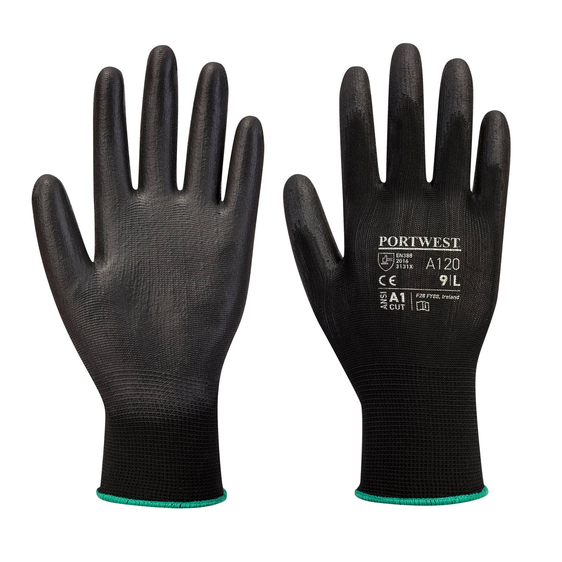 Portwest Handschoenen A120 zwart(BK)