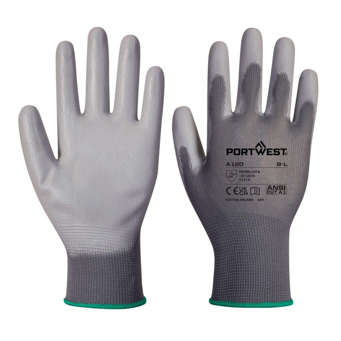 Portwest Handschoenen A120 grijs(GR)