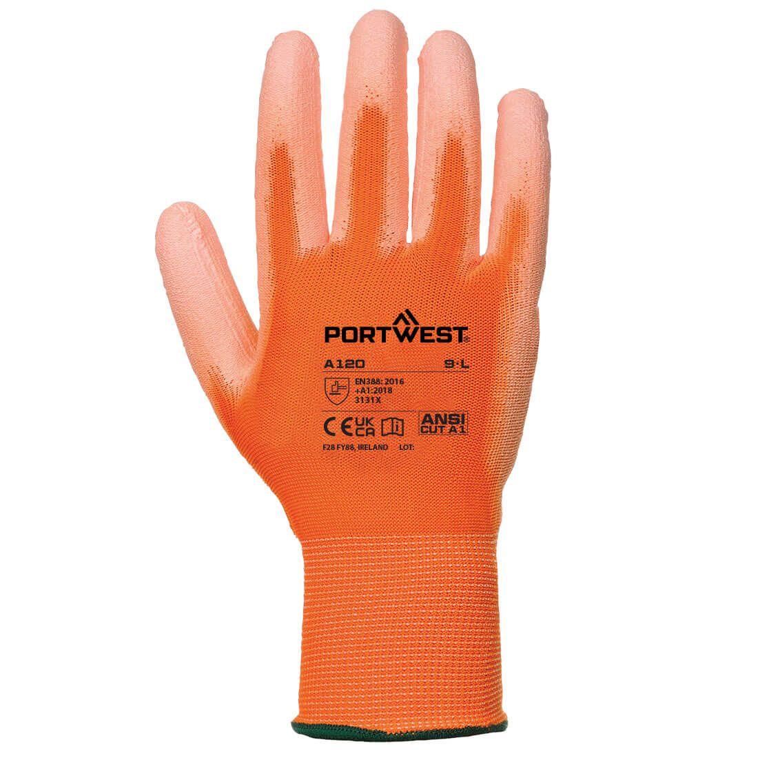 Portwest Handschoenen A120 oranje(O1)