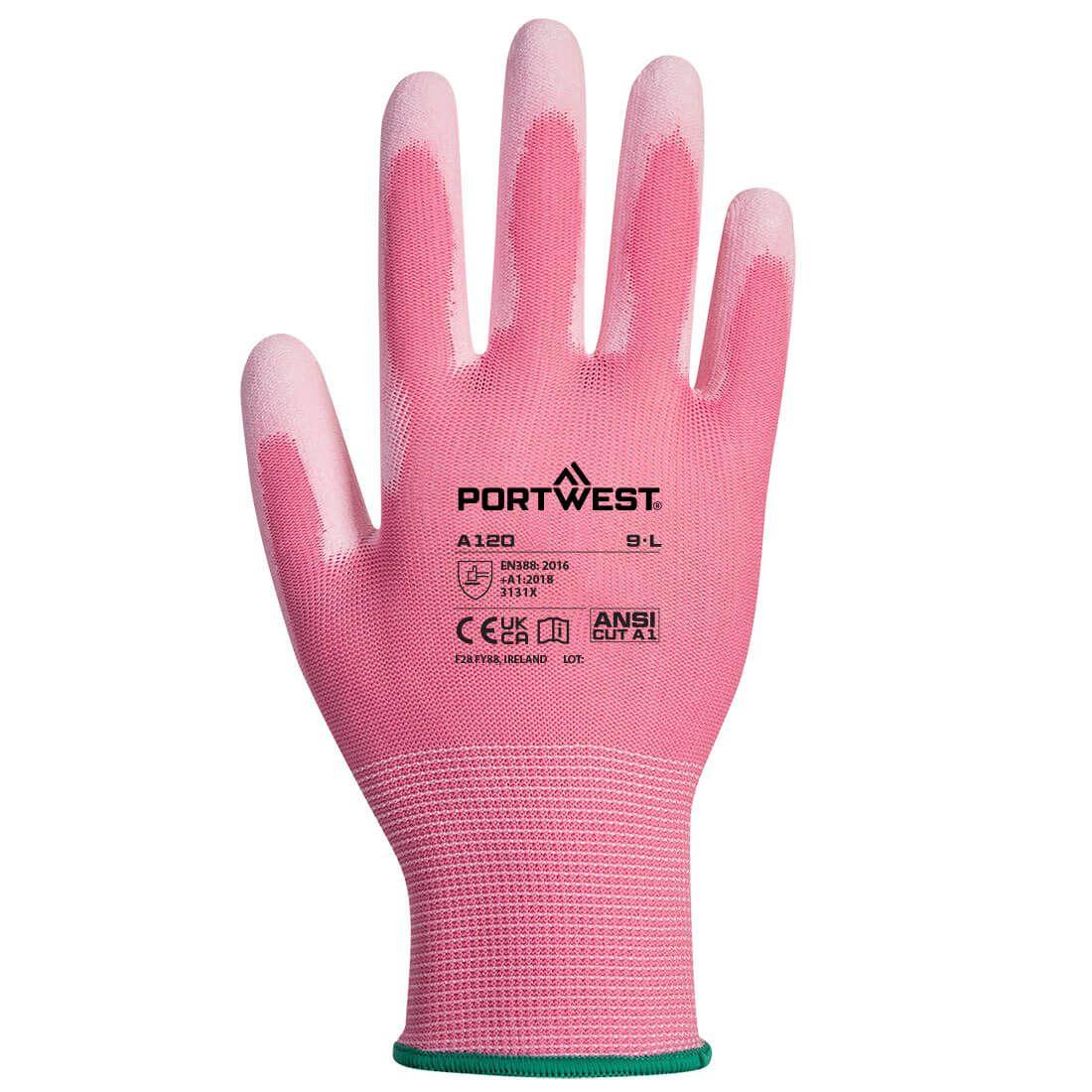 Portwest Handschoenen A120 roze(P9)