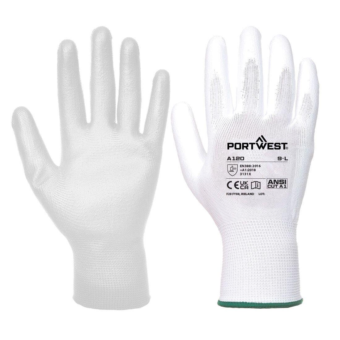 Portwest Handschoenen A120 wit(WH)