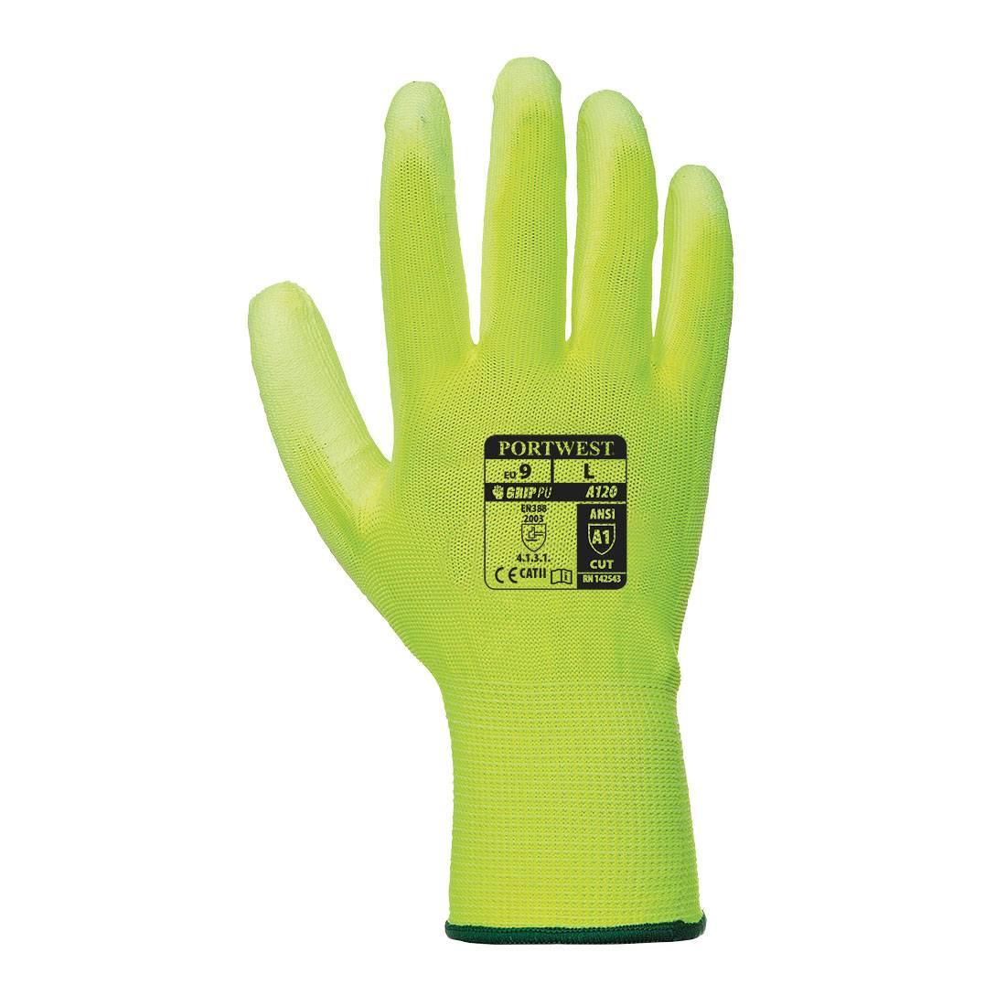 Portwest Handschoenen A120 geel-oranje(Y2)