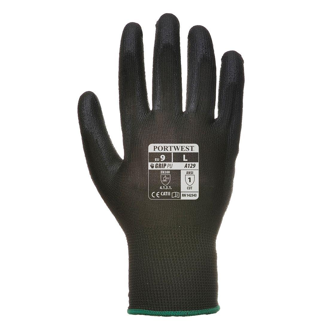 Portwest Handschoenen A129 zwart(BK)