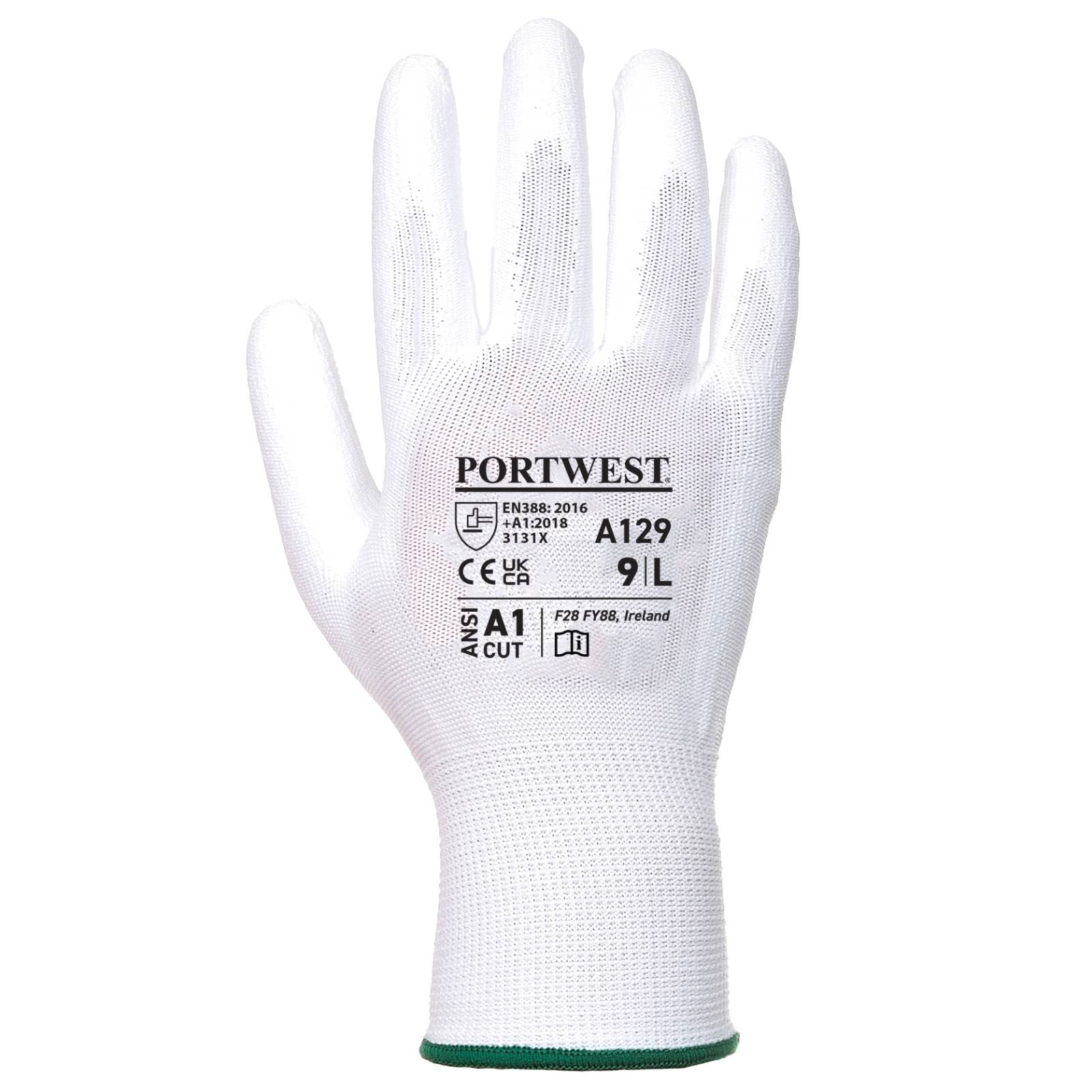 Portwest Handschoenen A129 wit(WH)