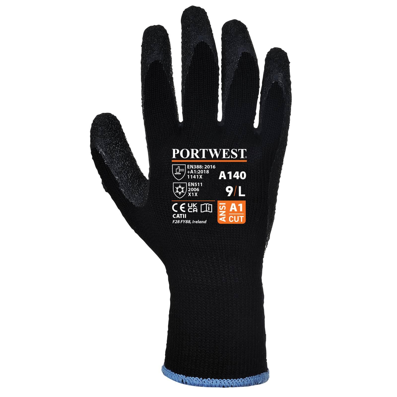 Portwest Handschoenen A140 zwart(K8)