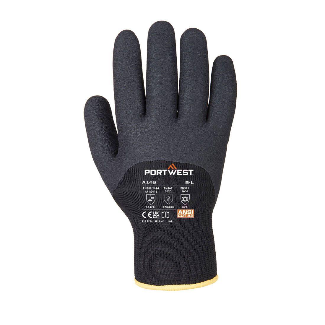 Portwest Handschoenen A146 zwart(BK)
