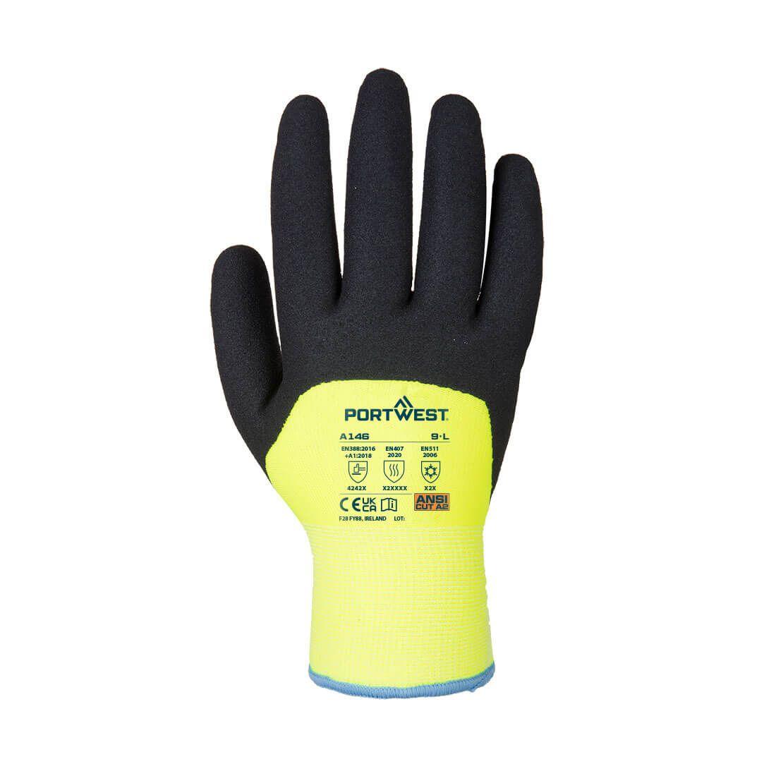 Portwest Handschoenen A146 geel(YE)