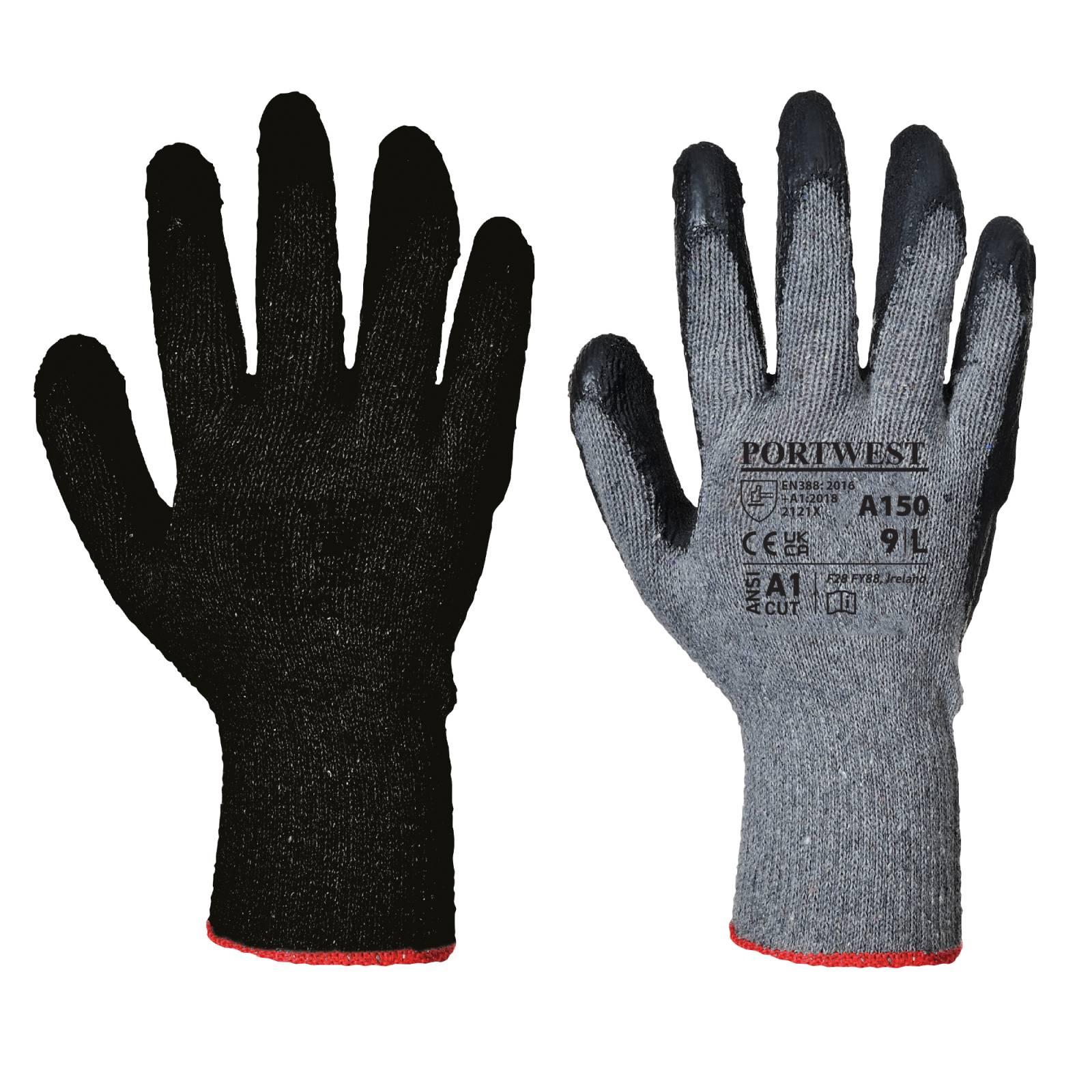 Portwest Handschoenen A150 zwart(BK)