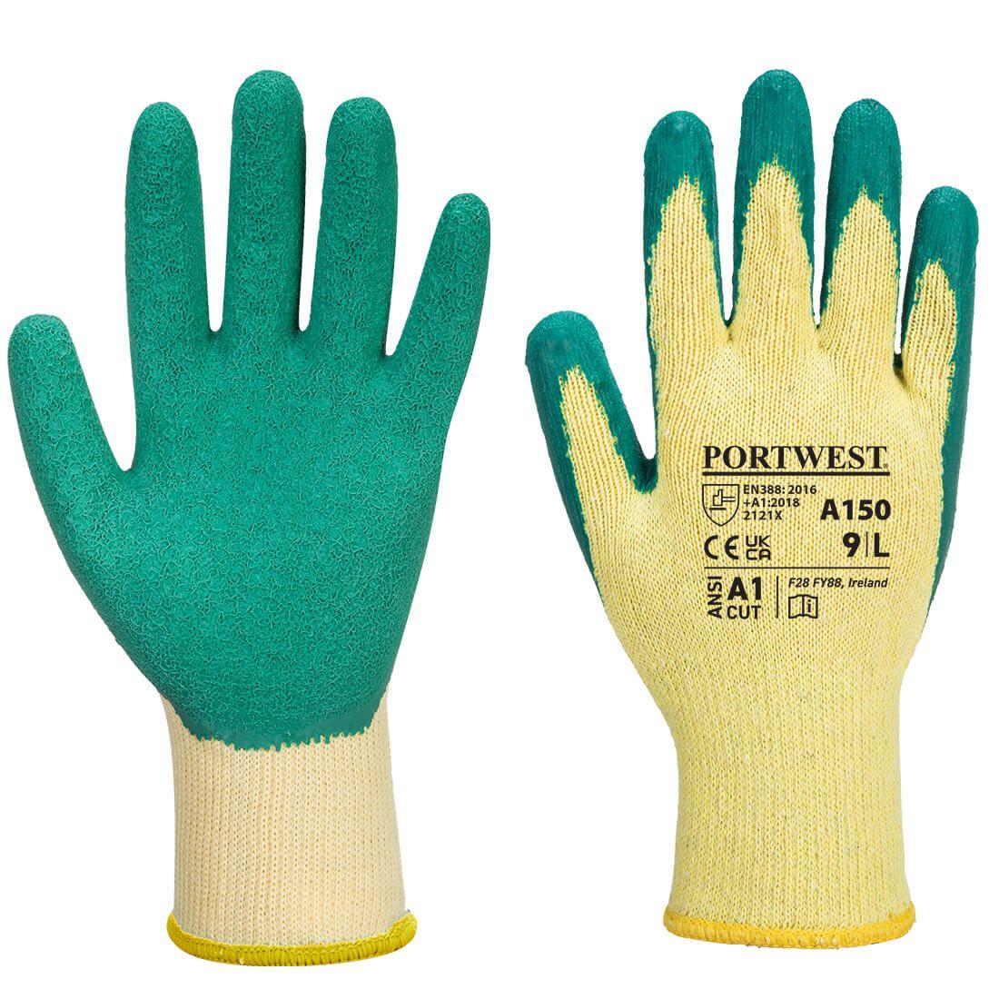 Portwest Handschoenen A150 groen(GN)