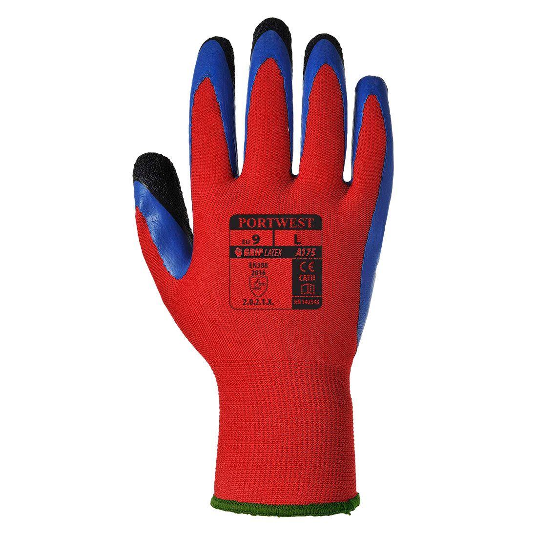 Portwest Handschoenen A175 rood-blauw(R4)