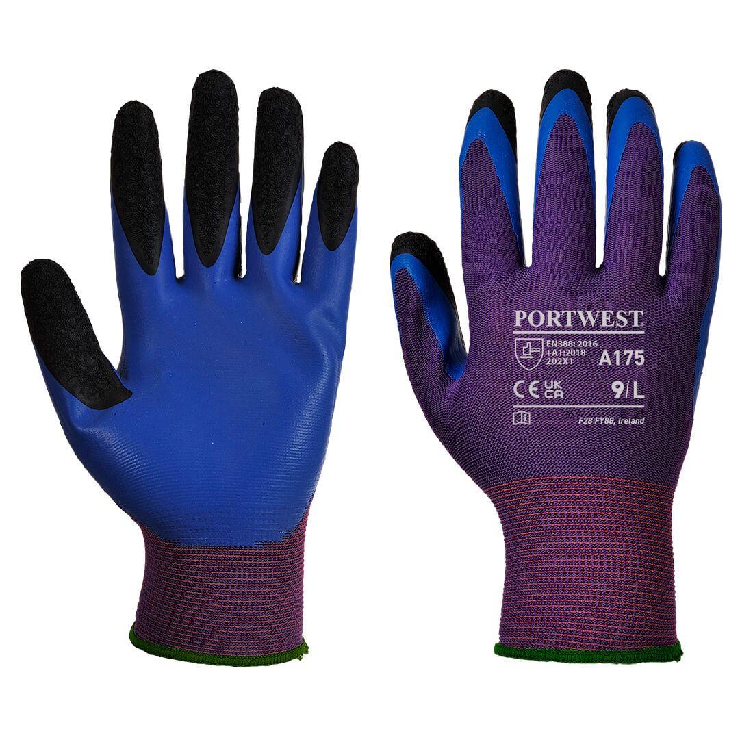 Portwest Handschoenen A175 paars-blauw(U4)