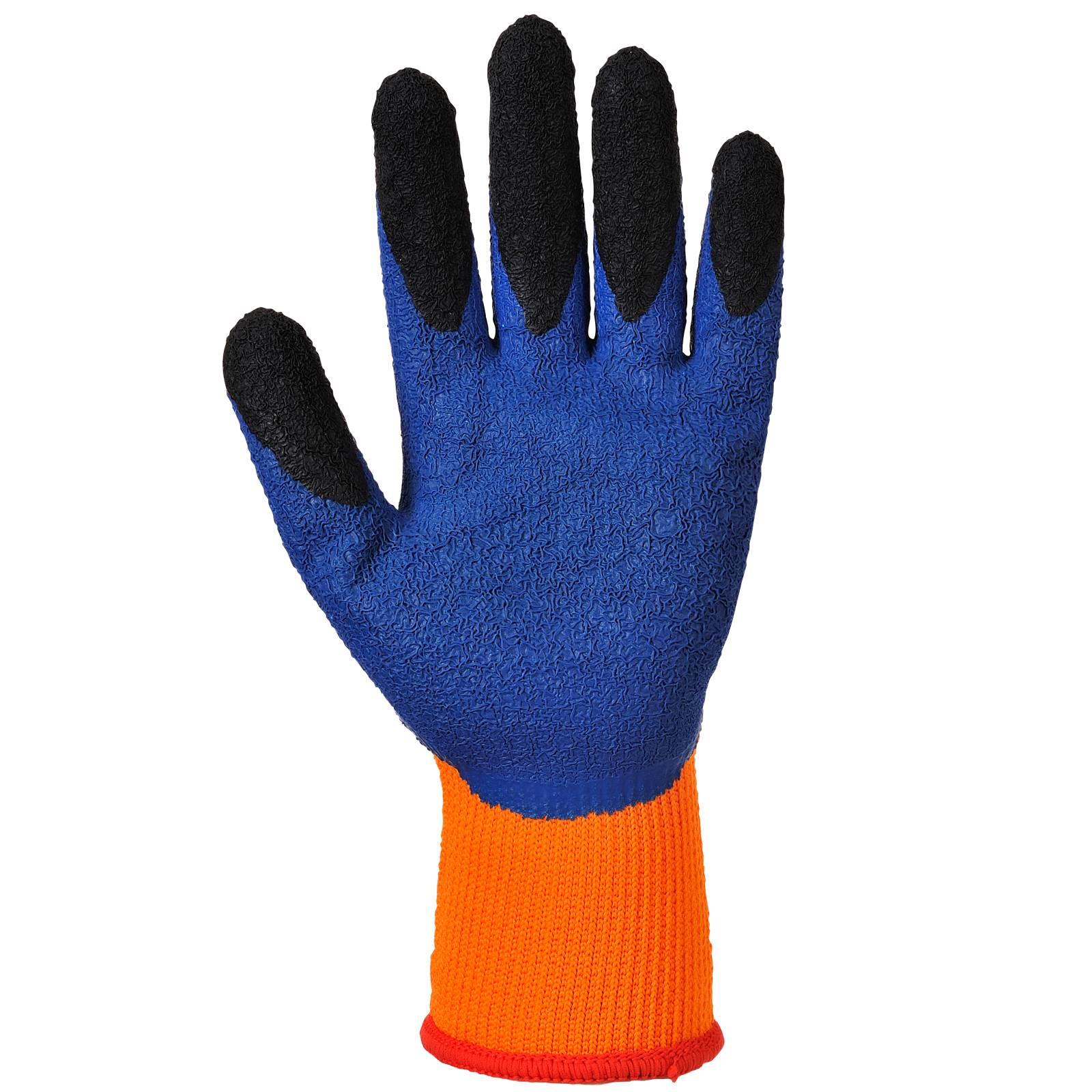 Portwest Handschoenen A185 oranje-blauw(O4)