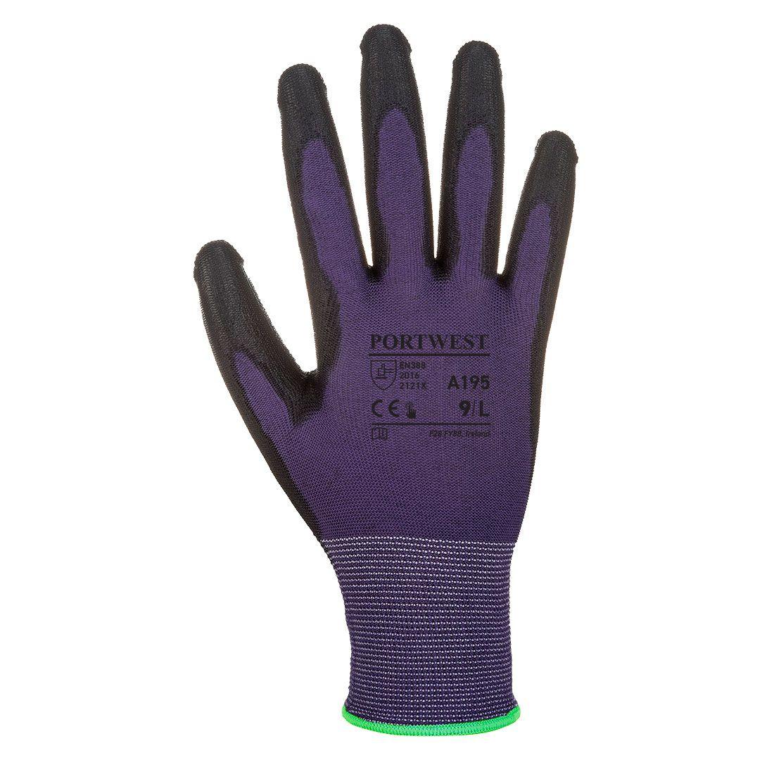 Portwest Handschoenen A195 paars-zwart(U8)