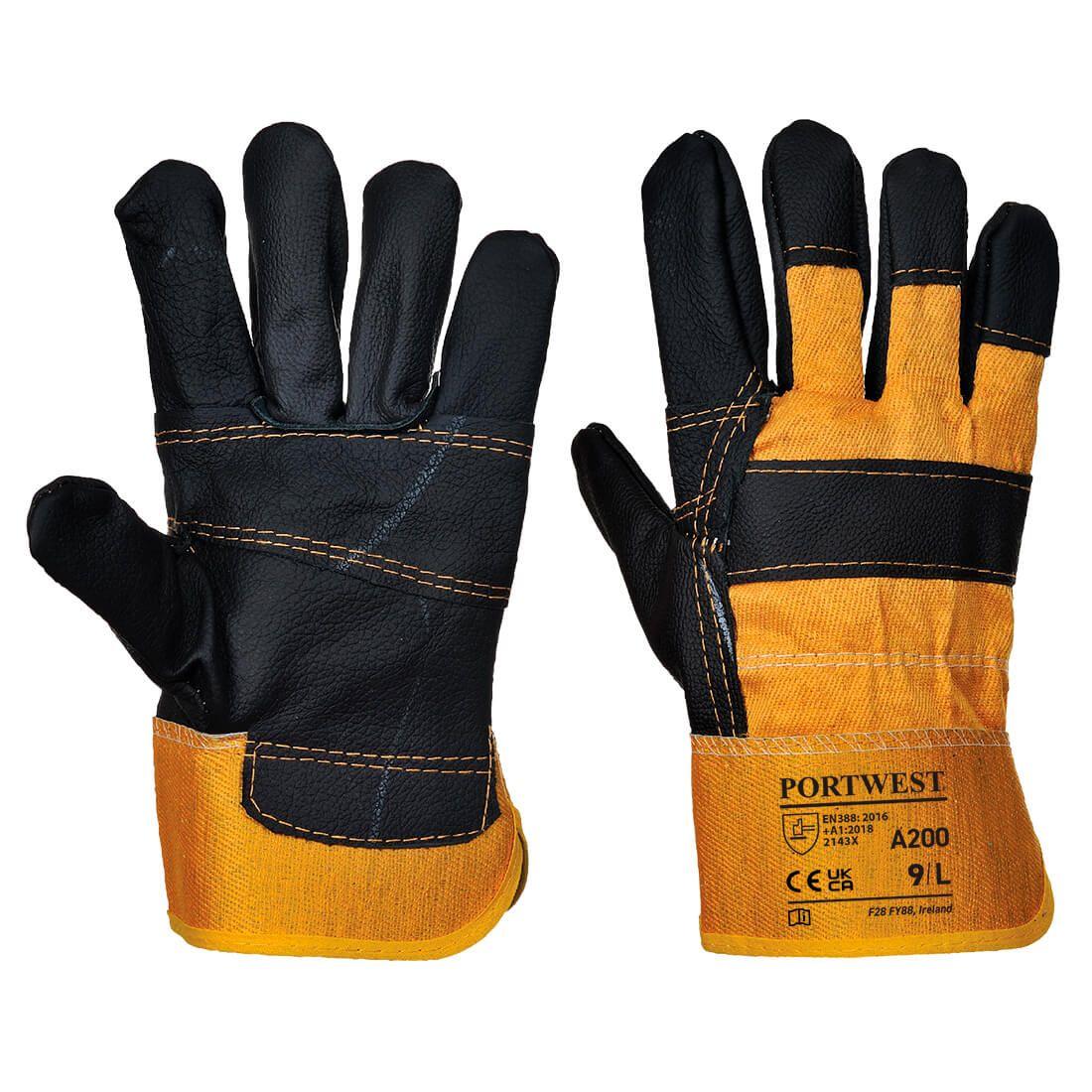 Portwest Handschoenen A200 geel(YE)
