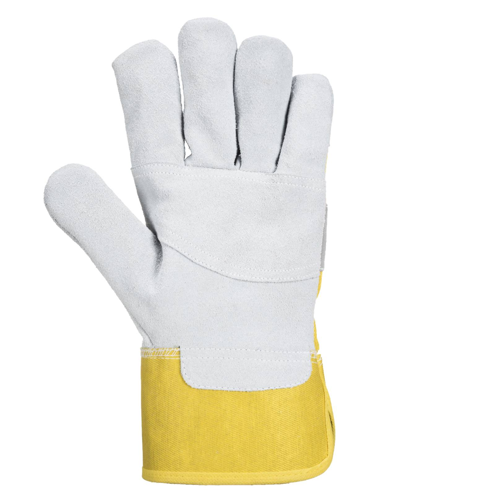 Portwest Handschoenen A219 Knokkelbescherming geel-rood(YR)
