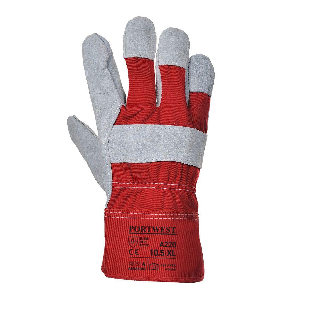 Portwest Handschoenen A220 rood(RE)