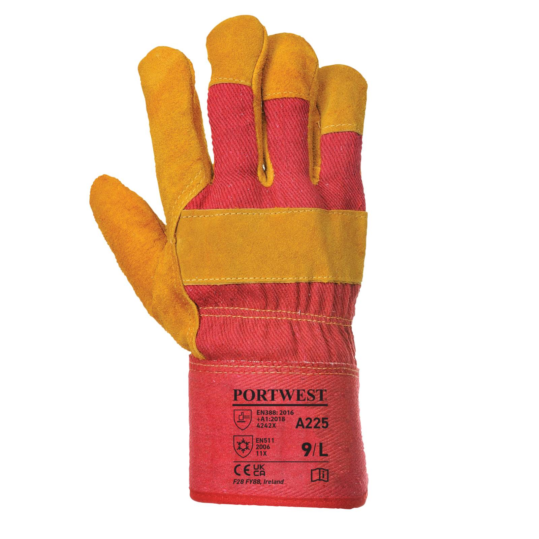 Portwest Handschoenen A225 rood(RE)