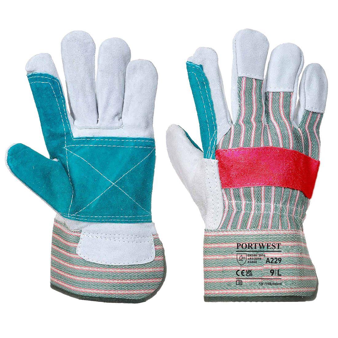 Portwest Handschoenen A229 groen(GN)