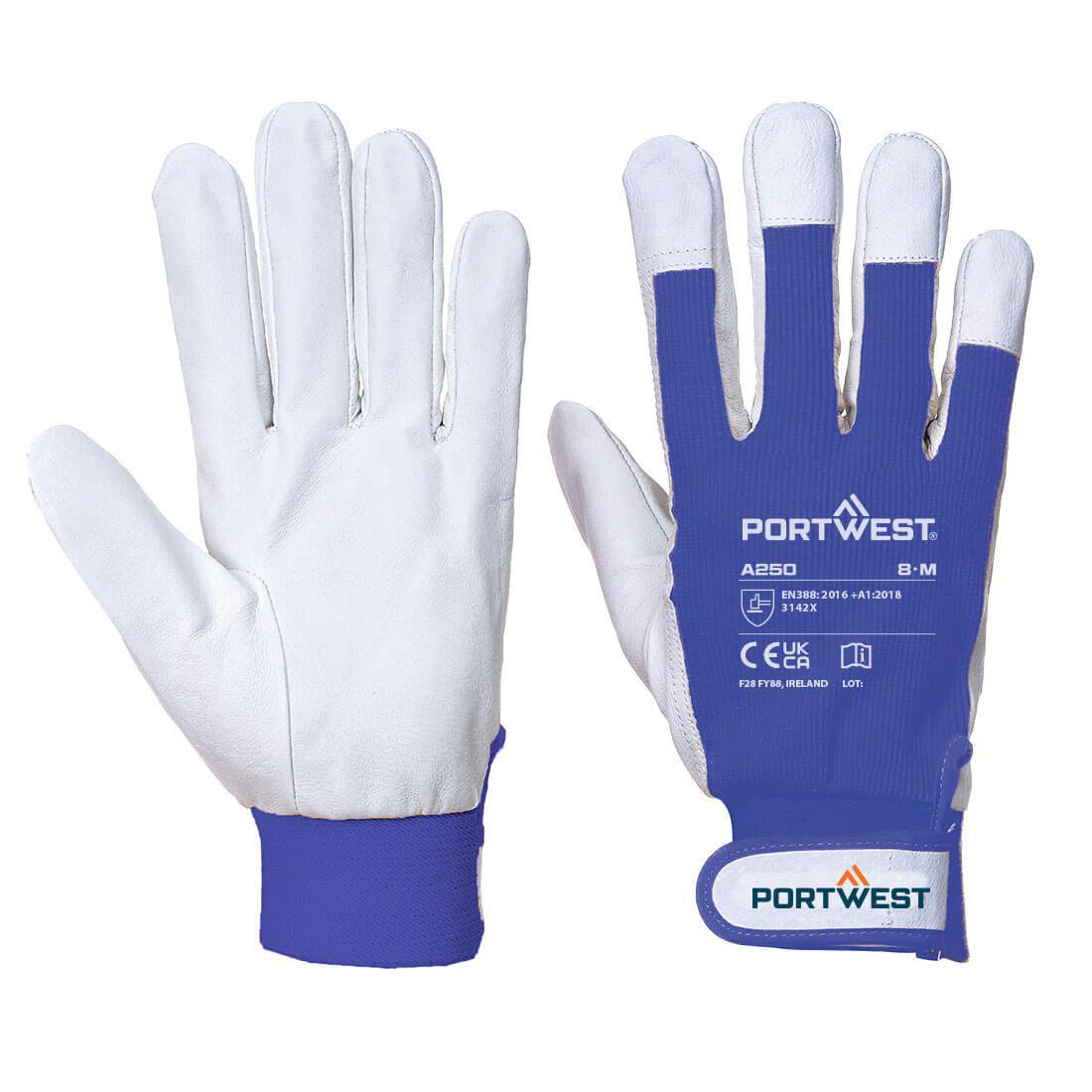 Portwest Handschoenen A250 blauw(BL)