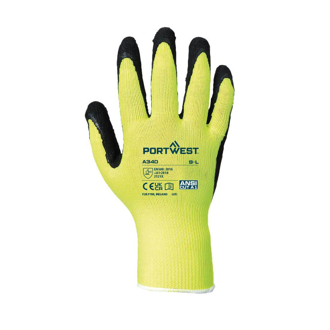 Portwest Handschoenen A340 geel(YE)