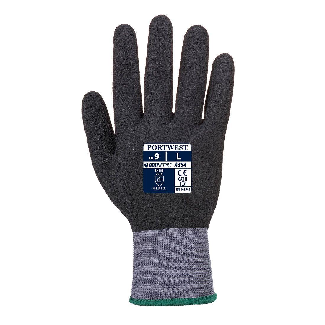 Portwest Handschoenen A354 zwart(K8)
