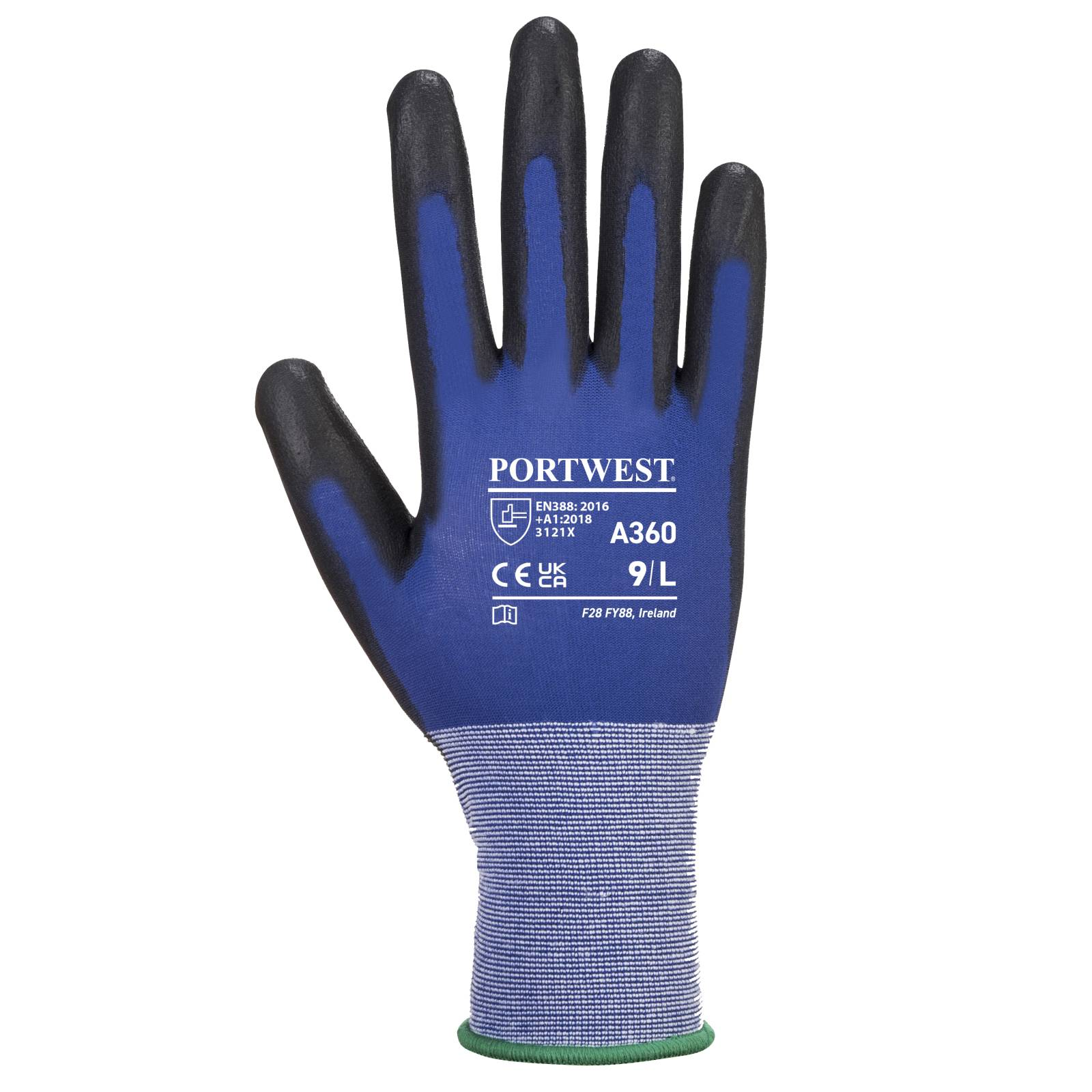 Portwest Handschoenen A360 blauw-zwart(B8)
