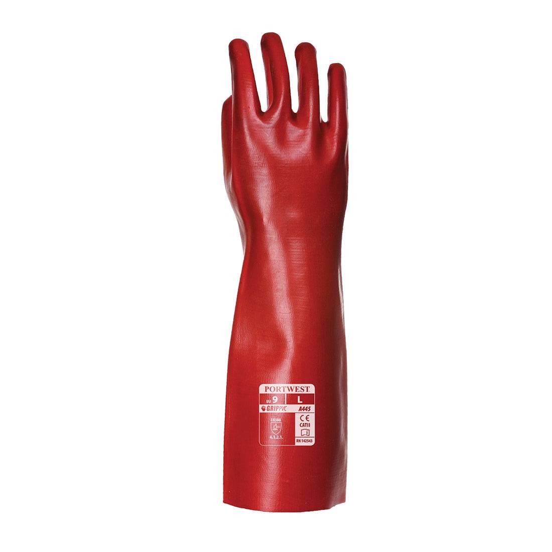 Portwest Handschoenen A445 rood(RE)