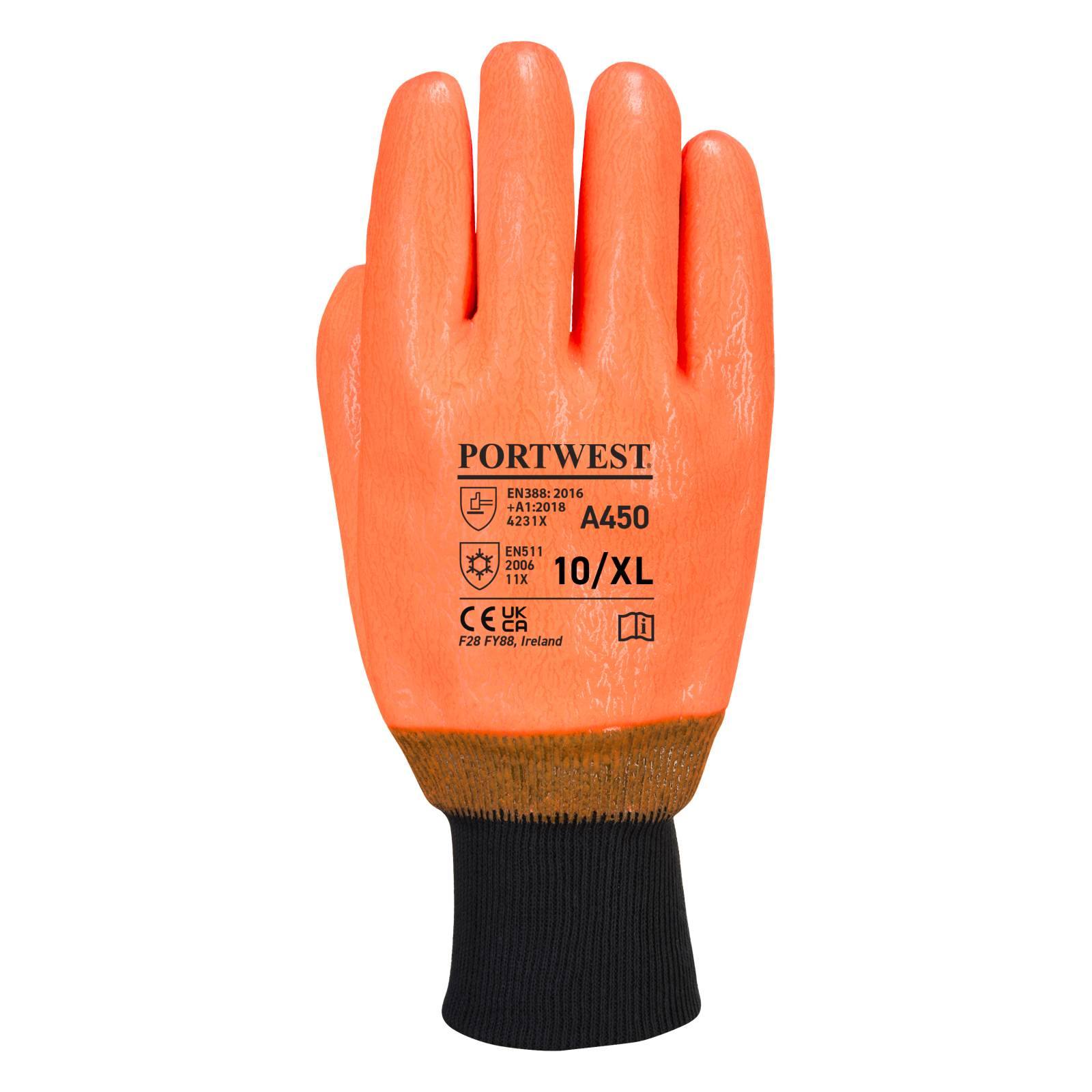 Portwest Handschoenen A450 oranje(OR)