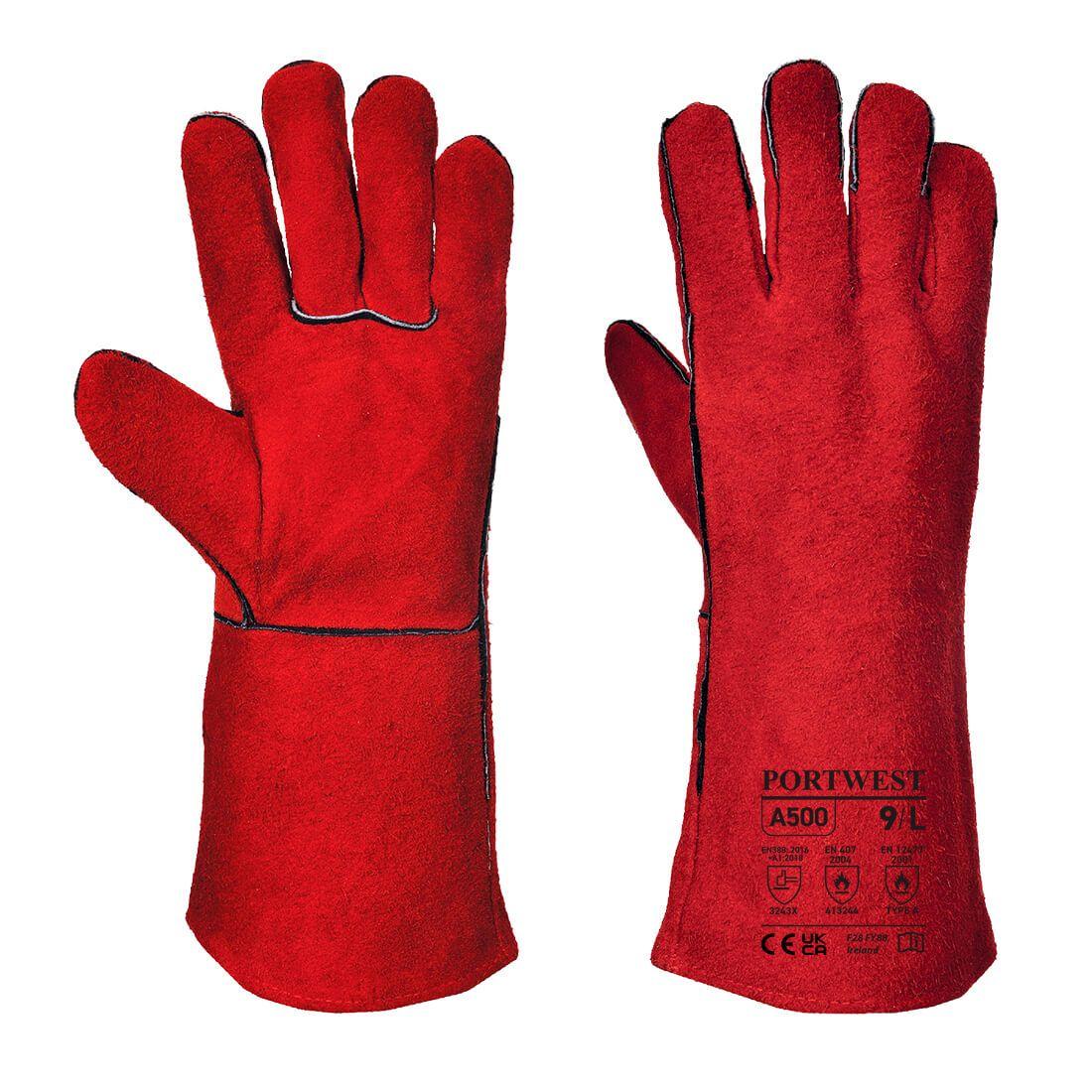 Portwest Handschoenen A500 rood(RE)